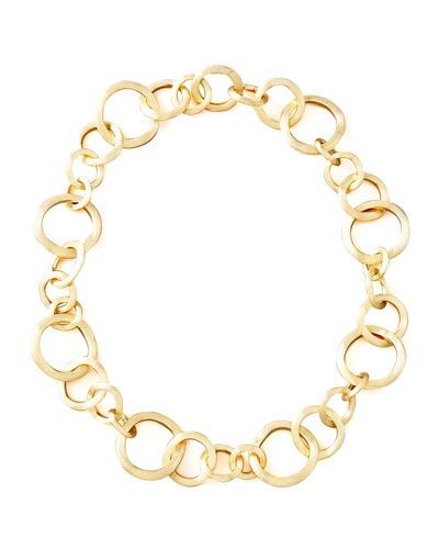 Jaipur Gold Link Necklace