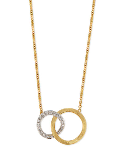 Jaipur 18K Pave Diamond Link Necklace