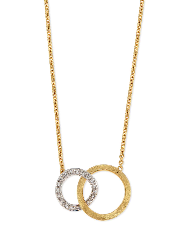 Jaipur 18K Pave Diamond Link Necklace