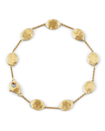 Siviglia 18K Gold Single-Strand Bracelet