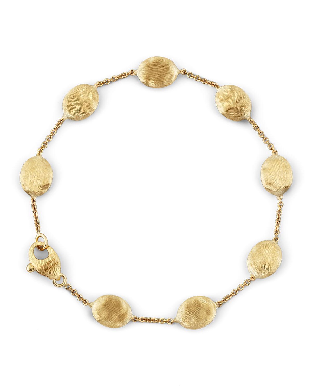 Siviglia 18K Gold Single-Strand Bracelet