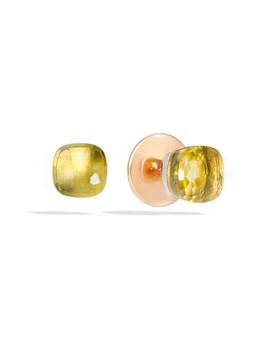 Nudo Lemon Quartz Stud Earrings