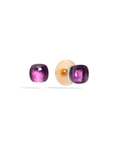 Nudo 18K Rose Gold Amethyst Earrings