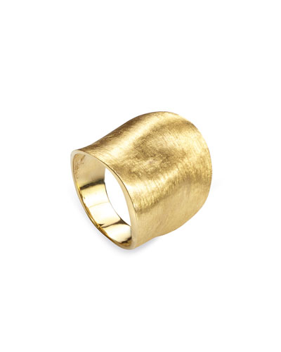 Lunaria 18K Yellow Gold Ring