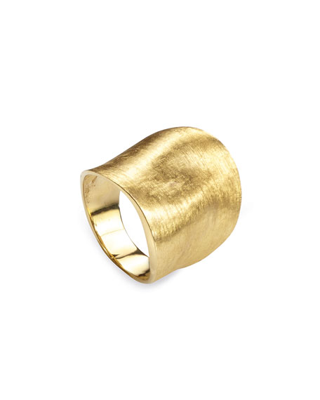 Marco Bicego Lunaria 18K Yellow Gold Ring