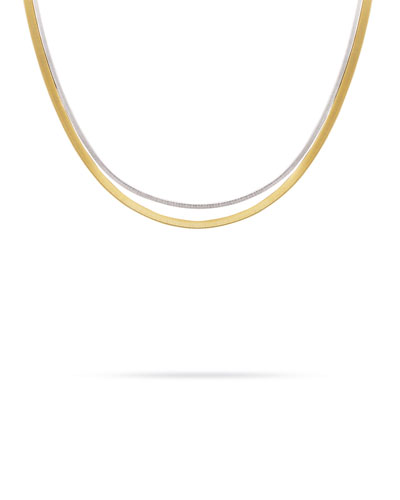 Masai 18K Two-Strand Necklace