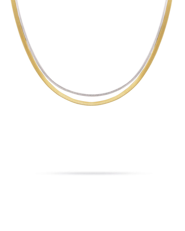 Masai 18K Two-Strand Necklace