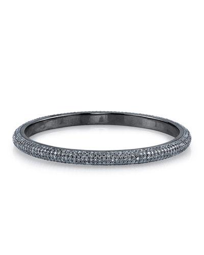 Medium Pavé Bangle Bracelet