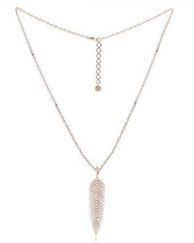 18k Feather Jewelry Neiman Marcus