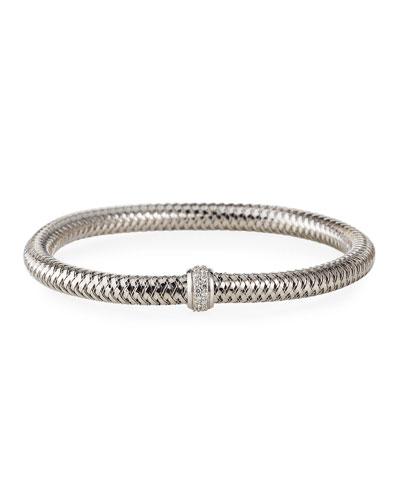 Diamond Primavera Bracelet, White Gold