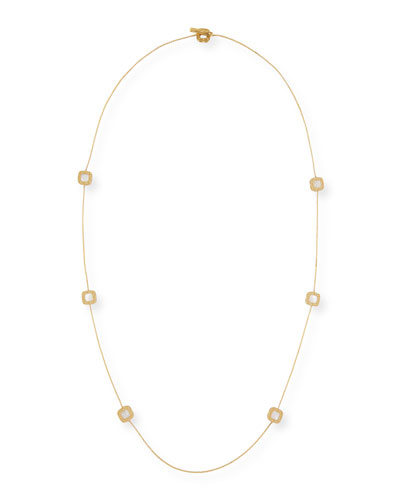 Pois Moi 18k Mother-of-Pearl Long Necklace
