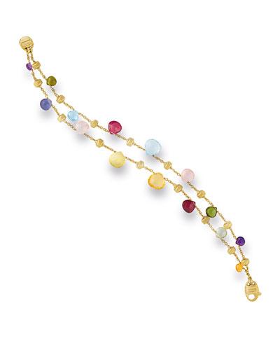 Paradise Two-Strand Mixed-Gem Bracelet