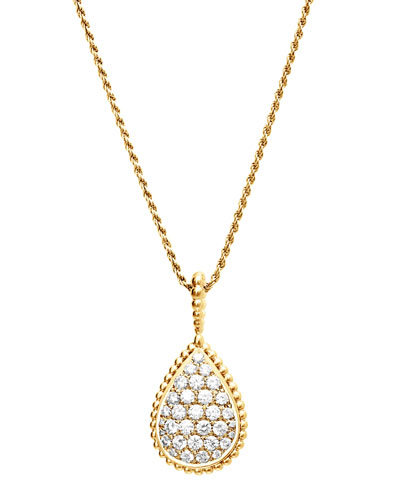 Serpent Boheme 18k Gold Diamond Pendant Necklace