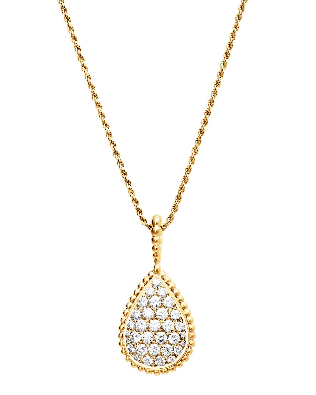 Serpent Boheme 18k Gold Diamond Pendant Necklace