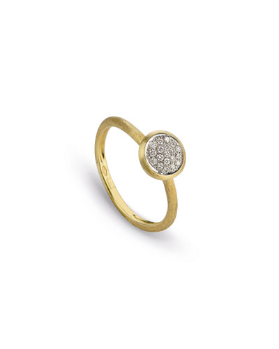 Jaipur 18K Diamond Bezel Ring