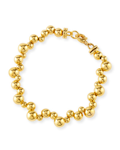 Atomo Small 18K Gold Ball Cluster Bracelet