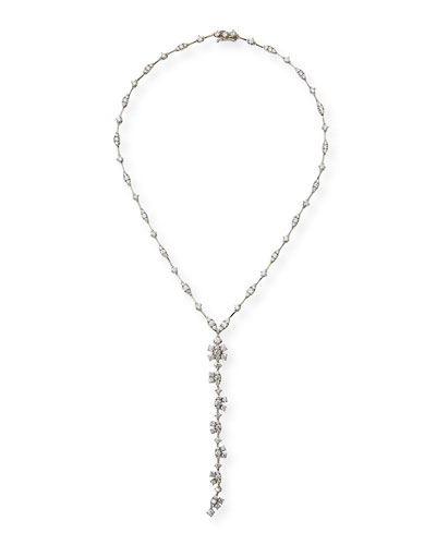Mixed-Cut Diamond Y-Dangle Necklace, 6.2 tdcw