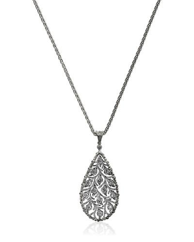 Ramage Diamond Charm Pendant Necklace
