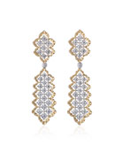 Rombi Diamond Drop Earrings