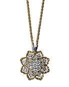Rombi Diamond Charm Necklace