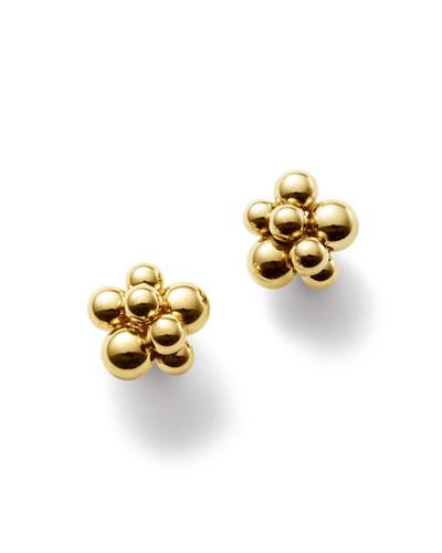 Mini Atomo Cluster Earrings in 18K Gold