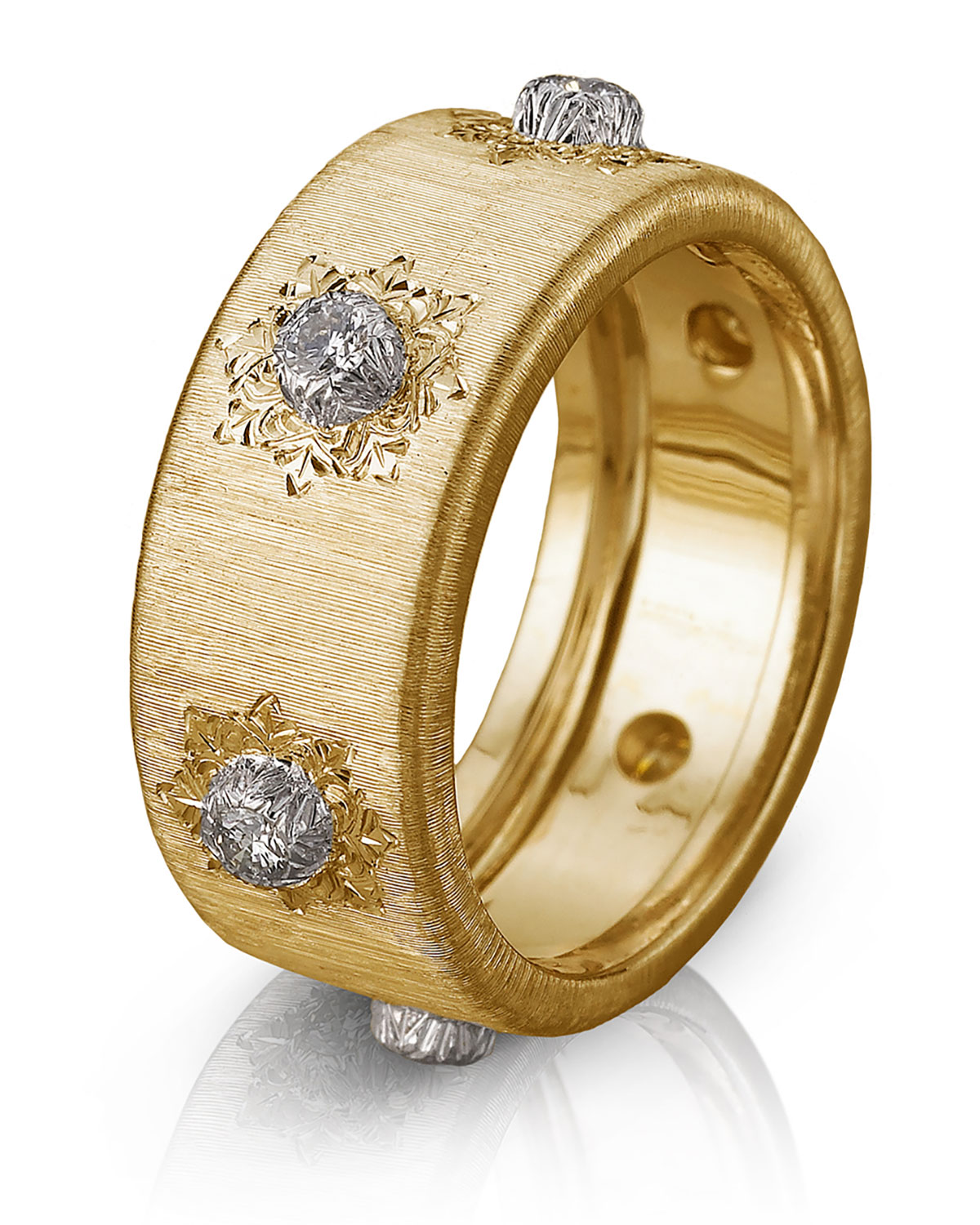 18k Yellow Gold Classica Ring