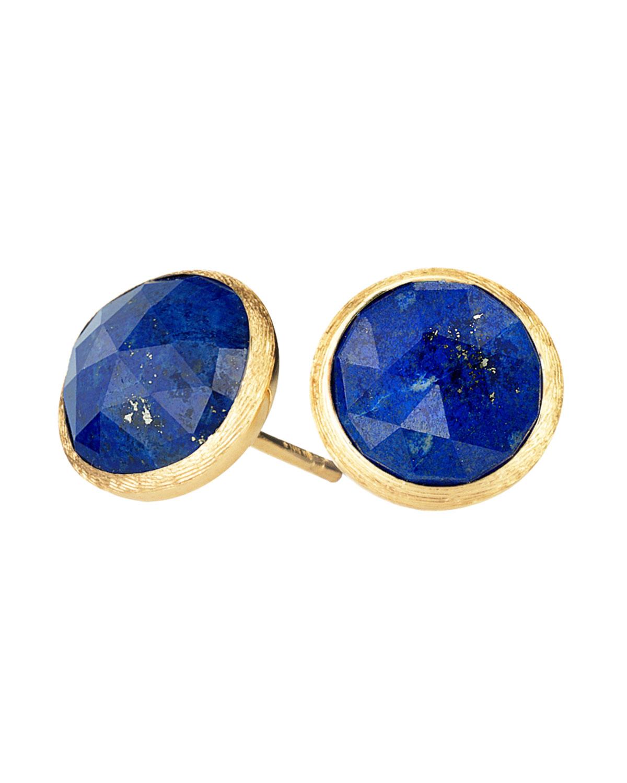 18Kyg Lapis Stud Earrings Ja