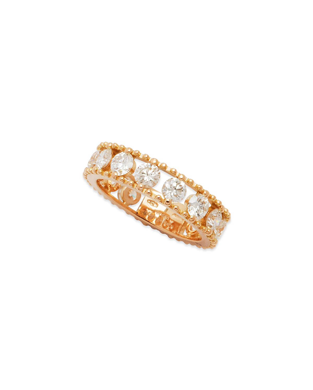 STAURINO FRATELLI ALLEGRA 18K ROSE GOLD DIAMOND OPENWORK BAND RING (2.45CT)