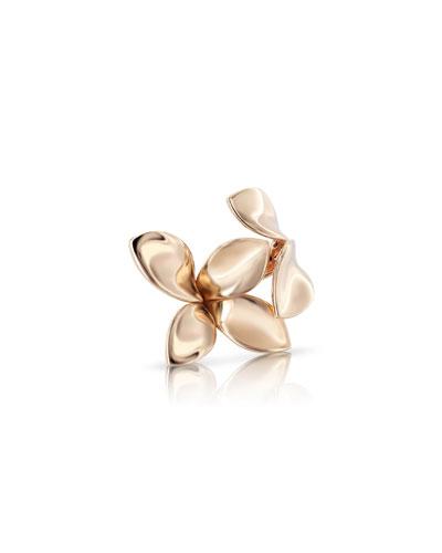 Giardini Segreti 18k Rose Gold Ring, Size 7.5