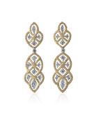 Etoilee Pendant Earrings with Diamonds