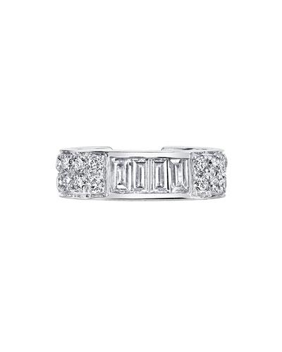 7c1b89fc8 Quick Look. Anita Ko · 18k White Gold Baguette & Diamond ...