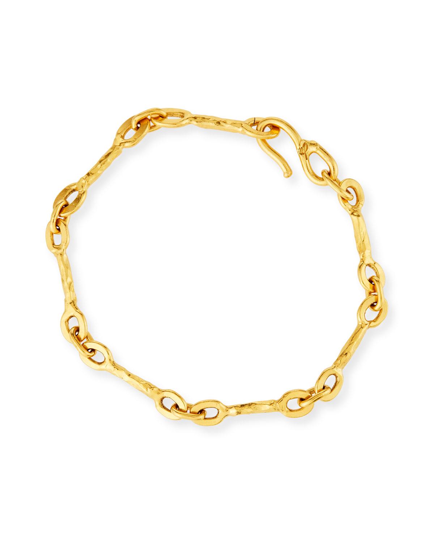 Insolite 22k Chain Bracelet