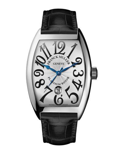 Curvex Watch with Alligator Strap