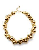 Atomo Short Necklace in 18K Gold