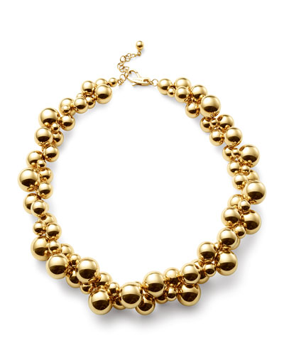 MARINA B ATOMO SHORT NECKLACE IN 18K GOLD