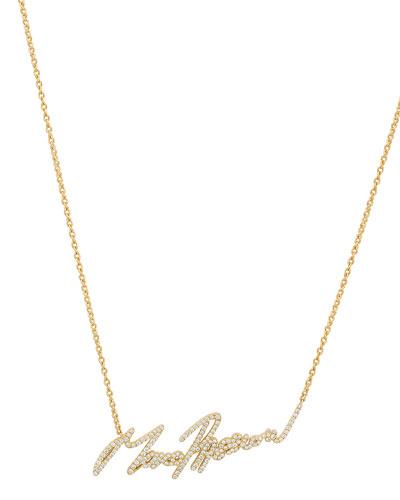 More Passion Pavé Diamond Pendant Necklace