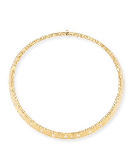 Roberto Coin Princess 18K Diamond Collar Necklace