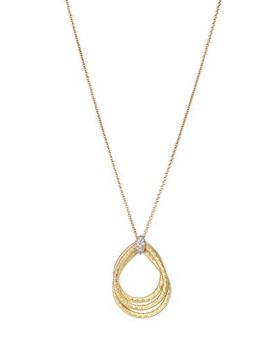 Cairo 18k Pendant Necklace with Diamonds