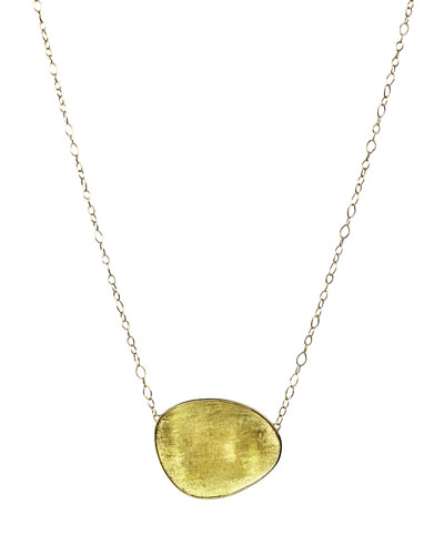 Lunaria 18k Gold Pendant Necklace