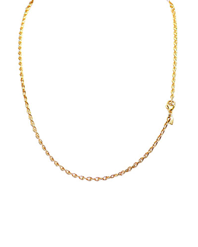 18K Yellow Gold Eight Chain, 20