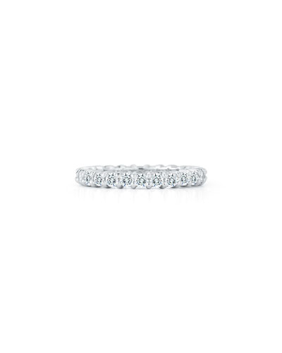 Diamond Eternity Band Ring in Platinum, 1.5 tdcw, Size 6.5