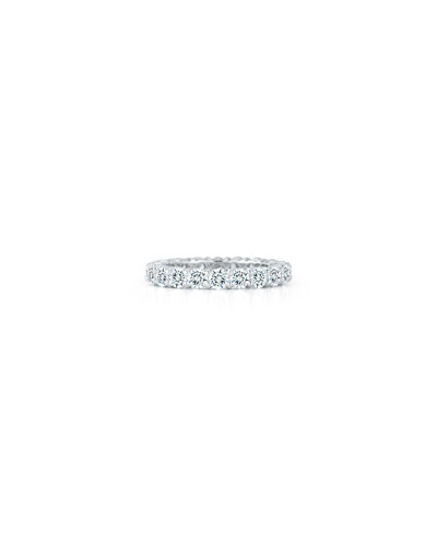 Diamond Eternity Band Ring in Platinum, 2.5 tdcw, Size 6.5