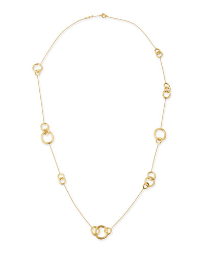 Jaipur Gold Link-Station Necklace
