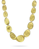 "Lunaria 18k Gold Necklace, 18""L"