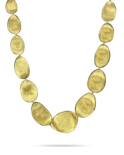 Lunaria 18k Gold Necklace, 18