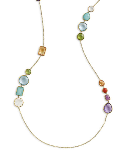 Rock Candy® Gelato Hero Necklace in Summer Rainbow, 42