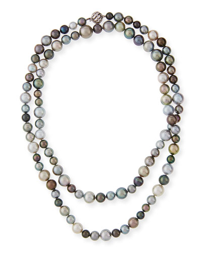 Tahitian & South Sea Pearl Necklace, 40