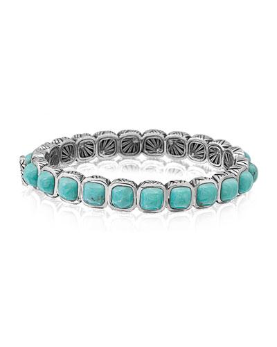 Cushion Turquoise Line Bracelet
