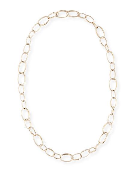 Pomellato Chain Necklace in 18K White Gold