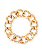 Tango Curb Link Bracelet in 18K Rose Gold